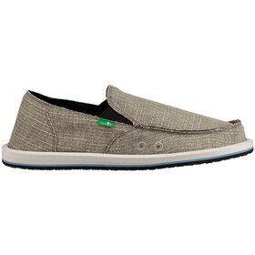 Sanük M's Vagabond Grain Slub Shoes Grey